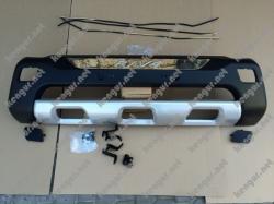 Накладка переднего бампера Toyota RAV 4 (пластик)