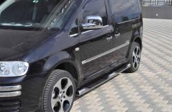 Пороги боковые (трубы) Volkswagen Caddy