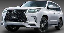 Обвес TRD на Lexus LX 570 с 2015 в 2018 (facelift)