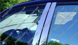 Молдинг дверных стоек Volkswagen Touran нерж