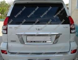 Накладка на задний бампер Toyota Prado120