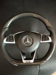 Руль карбоновый Mercedes Benz CLA Class C117 Brabus