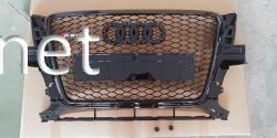 Решетка радиатора Audi Q5 стиль RSQ5 Black (2008-2011)