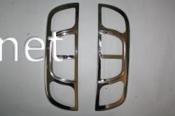 Накладки на задние фонари (стопы) Fiat Fiorino 2008-…