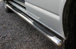 Пороги боковые Volkswagen T5 (трубы)