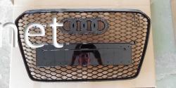 Решетка радиатора Audi A5 в стиле RS5 all black (2011-2015) 8T0853651Q1RR