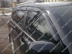 Дефлекторы дверей, ветровики Toyota Highlander
