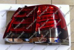 Задние фонари диодные, (дымчатые) Toyota Land Cruiser 200 (Стиль Lexus LX570) SK1600-TCRS08-S