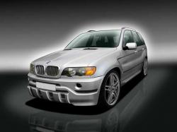 Бампер передний BMW X5 E53 51117027036