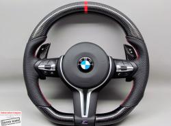 Руль карбоновый на BMW M3