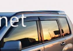 Дефлекторы окон - ветровики (Сobra) Hyundai  Santa Fe 2012-…