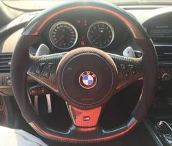 Руль карбоновый  BMW M6