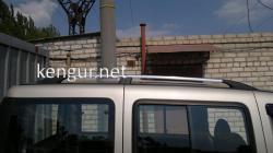 Рейлинги (хром) Fiat Doblo 2000-2005 (короткая база)