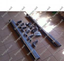 Пороги боковые Mercedes G-class W463 A4638502707, A4638502807
