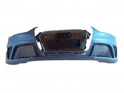 Бампер передний RS4 Audi на A4 2012-2015 с решеткой радиатора 8K0807065DGRU, 8K0807065AGRU