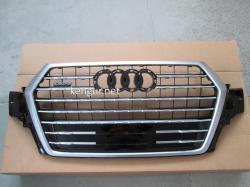 Решетка радиатора Audi Q7 стиль SQ7 Никель 2016+