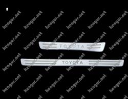 Накладки на пороги Toyota Land Cruiser 100