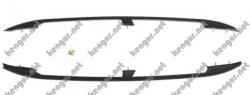 Рейлинги черные (пластиковые концевики) Fiat Doblo