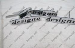 Комплект шильдиков на сиденья  Designo  Mercedes G-class W463