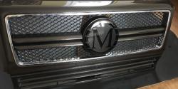 Карбоновая решетка в стиле MansorY на Mercedes Benz G Class W463