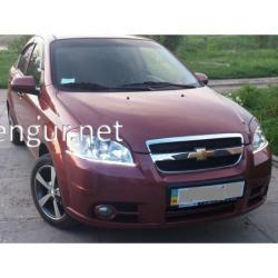 Реснички - накладки на фары (Spirit) Chevrolet Aveo T250 2005-2011