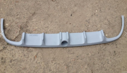 Докладка заднего бампера (skid plate) BRABUS на Mercedes CLS 219