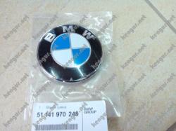 Задняя эмблема BMW X5 E53, 7- E65, E66, E67- 51141970248