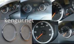 Кольца в щиток приборов Citroen Jumper 2006-2014