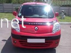 Дефлектор капота - мухобойка (VIP) Renault Kangoo 2007-…