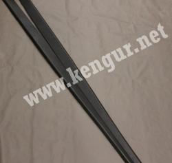 Renault Duster Накладка порога (black) 769524766R
