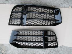 Решетки противотуманок Audi A5 стиль RS5 2012-2015