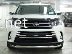 Дуга по бамперу одинарная (Tamsan) Toyota Highlander 2013-…