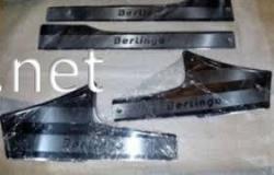 Накладки на внутренние пороги Citroen Berlingo 2008-2018