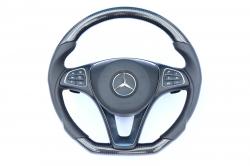 Руль карбоновый Mercedes Benz C Class W205 AirBag