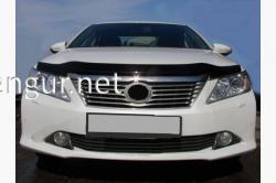 Дефлектор капота - мухобойка (SIM) Toyota Camry 2011-…