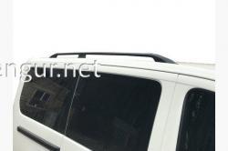 Рейлинги (черные) Fiat Scudo 2006-2016 (длинная база)