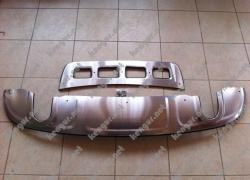 Накладки переднего и заднего бампера Skid Plate Audi Q5 2009
