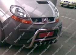 АКЦИЯ! Защитная дуга, кенгурятник Opel Vivaro