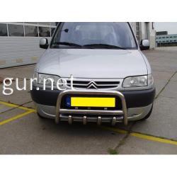 Защита переднего бампера - кенгурятник (Tamsan) Citroen Berlingo 1996-2008