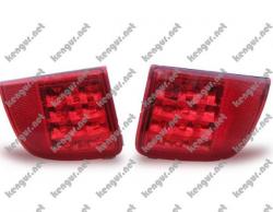 Задние противотуманки Toyota Land Cruiser 200 (диодные) красные TY1031-B0RE2
