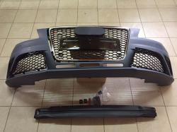 Передний бампер Audi A4 RS4 2008-2012 года 8K0807105AGRU, 8K0807105BGRU, 8K0807105GRU