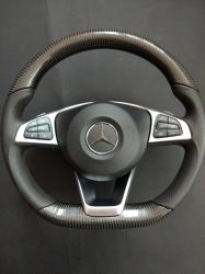 Карбоновый руль Mercedes Benz W205 AMG C Class