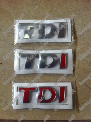 Надпись  TDI  Volkswagen Touareg