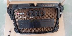 Решетка радиатора Audi A3 стиль RS3 2008 - 2011 all black