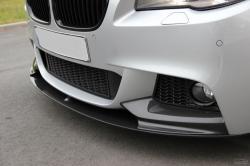 Карбоновая докладка переднего бампера, губа F30 M Perfomance