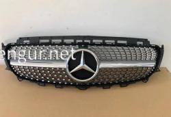 Решетка радиатора Diamond Silver Grille Mercedes W213 2016-...