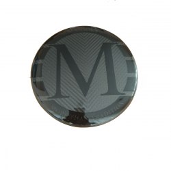Эмблема в решетку радиатора карбон Mansory на Mercedes-Benz G-Class W463