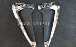 Жабры в крылья BMW X5 F15 M Performance (хром)