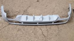 Докладка заднего бампера (skid plate) BRABUS на Mercedes ML166