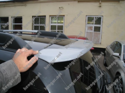 Спойлер на крышку багажника Renault Duster (козырек)